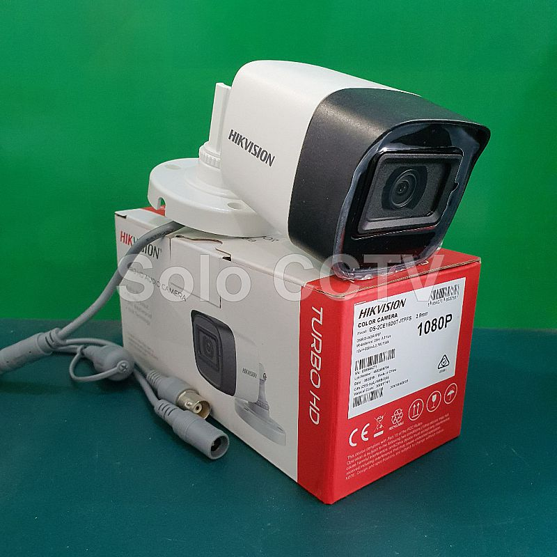 Camera Hikvision Outdoor DS-2CE16D0T-ITPFS 2MP Audio