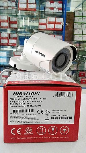 Camera CCTV Hikvision DS-2CE16D0T-IRPF 4in1 2mp