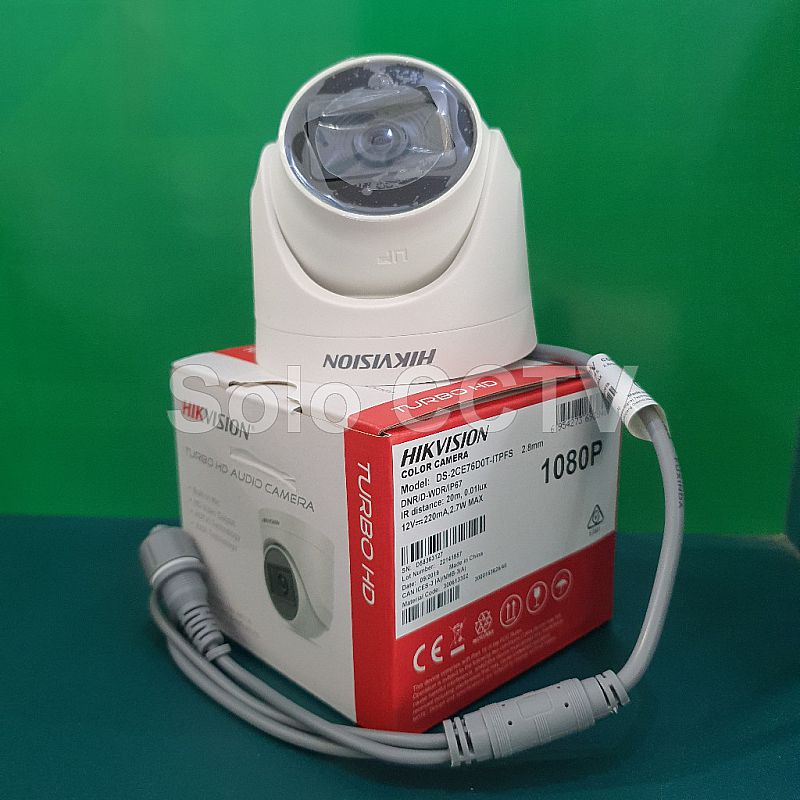 Camera Hikvision Indoor DS-2CE76D0T-ITPFS 2MP Audio